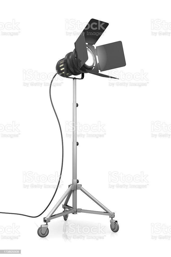 スタジオ照明 ロイヤリティフリーストックフォト