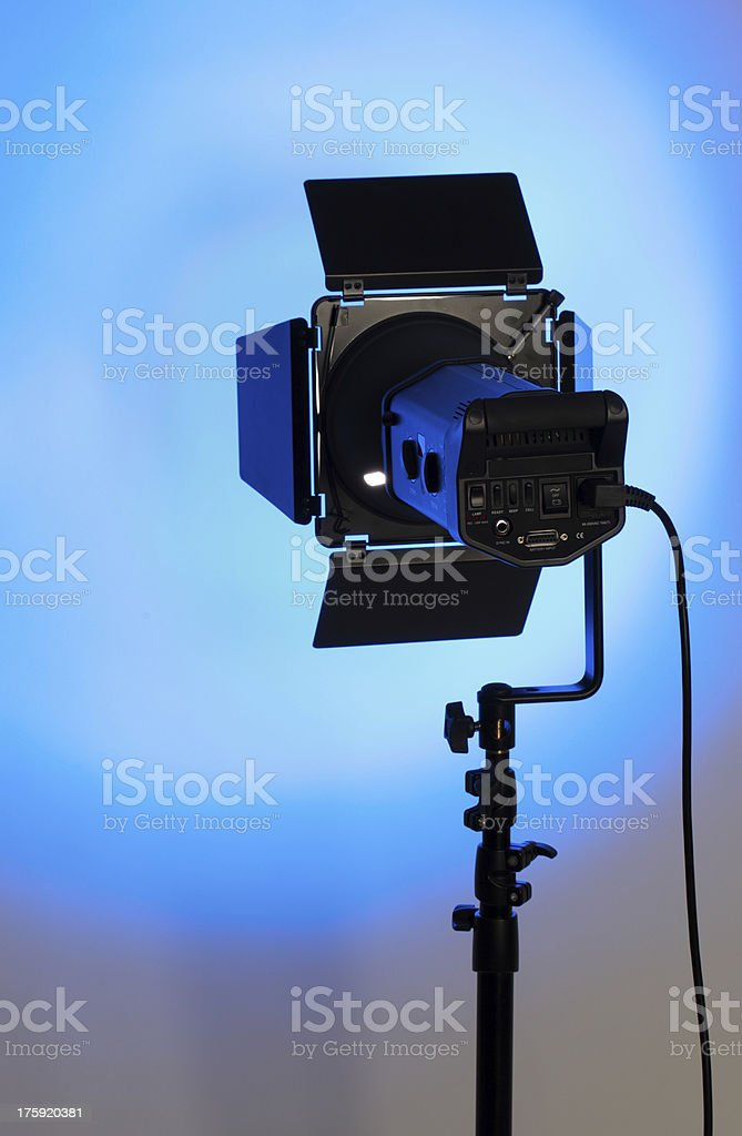 studio lighting royalty-free stock photo