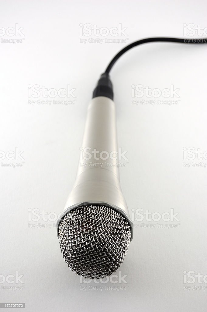 Studio Microphone, Close-up royalty-free stock photo