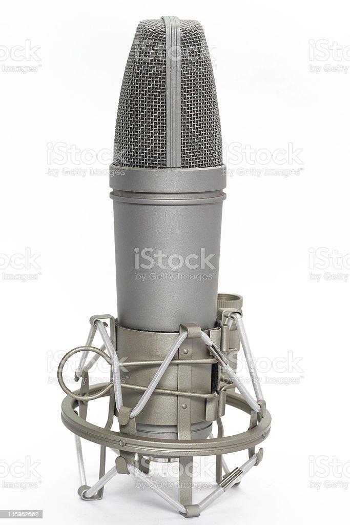 Studio Microphone royalty-free stock photo