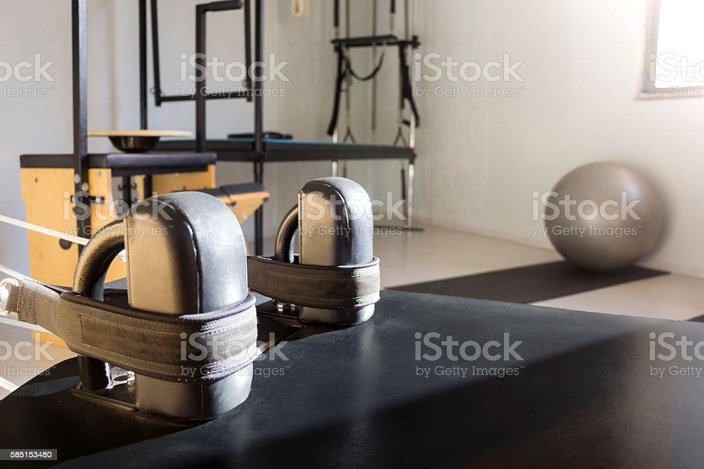 Studio pilates stock photo