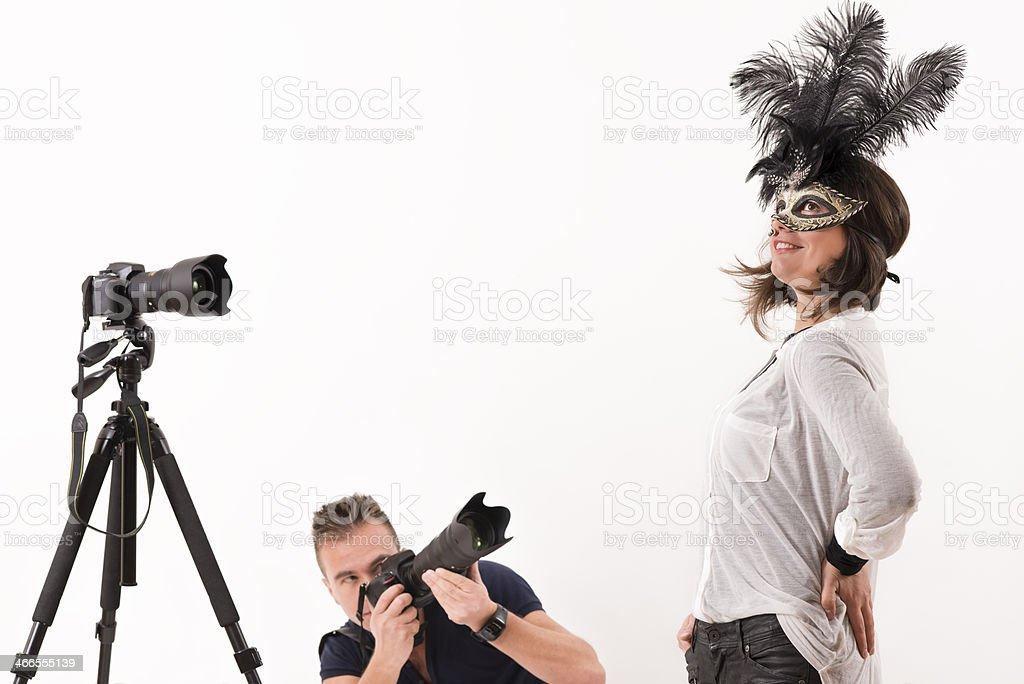 Studio Shoot stock photo