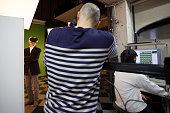 VR studio shooting