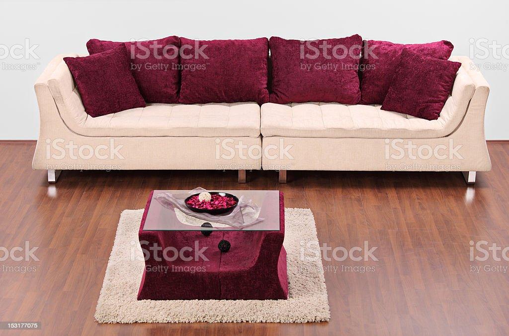 Studio shot of a modern furniture royalty-free stock photo