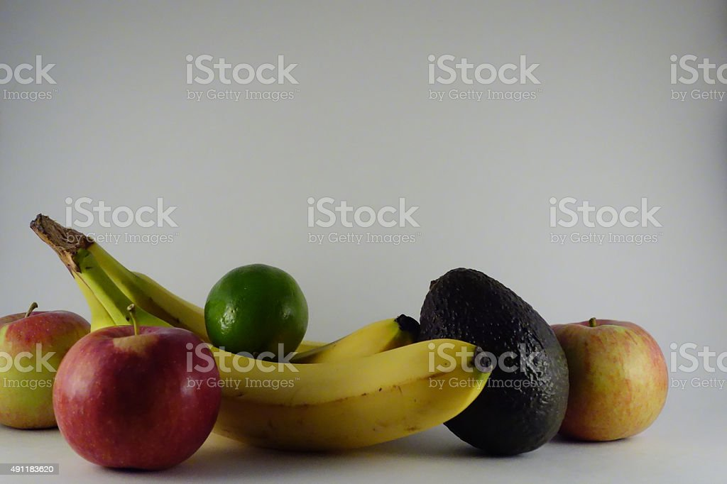 studio shot of fruit1 stock photo