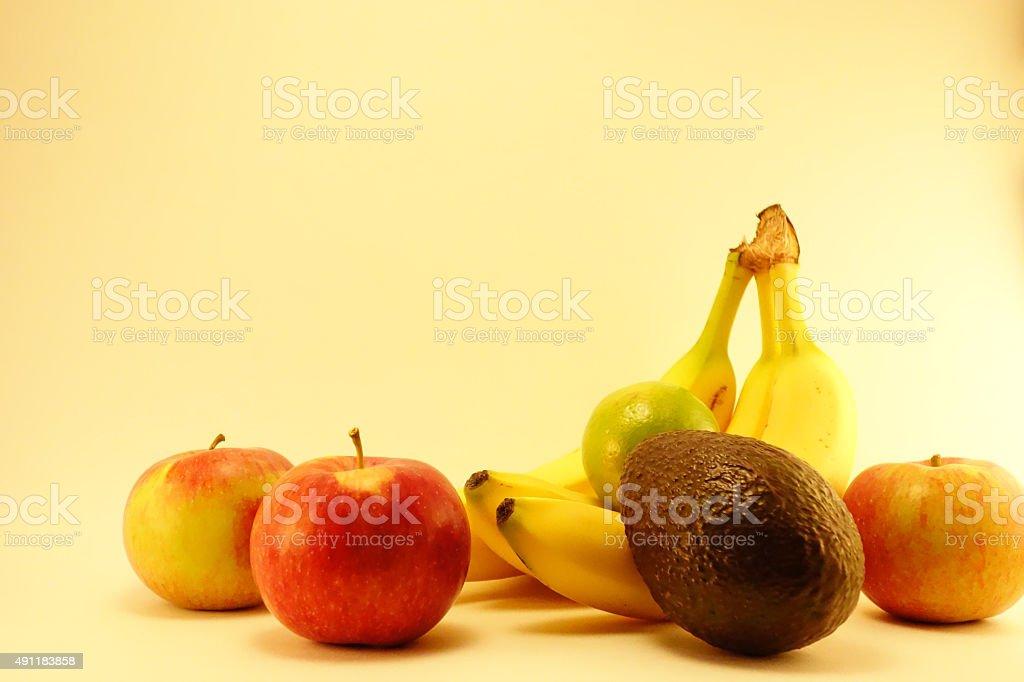Studio shot of fruit3 stock photo