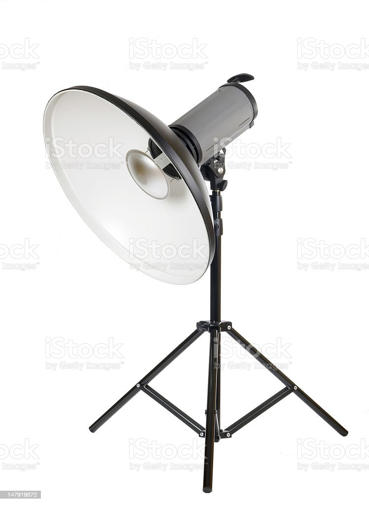 Studio strobe royalty-free stock photo