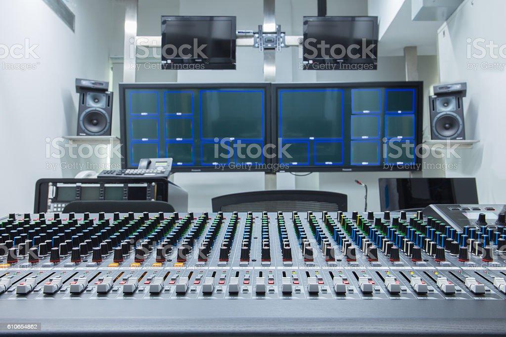 studio TV stock photo