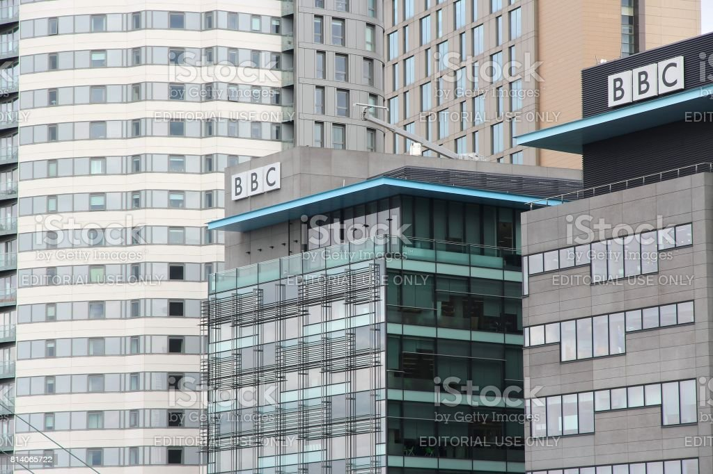 BBC studios stock photo