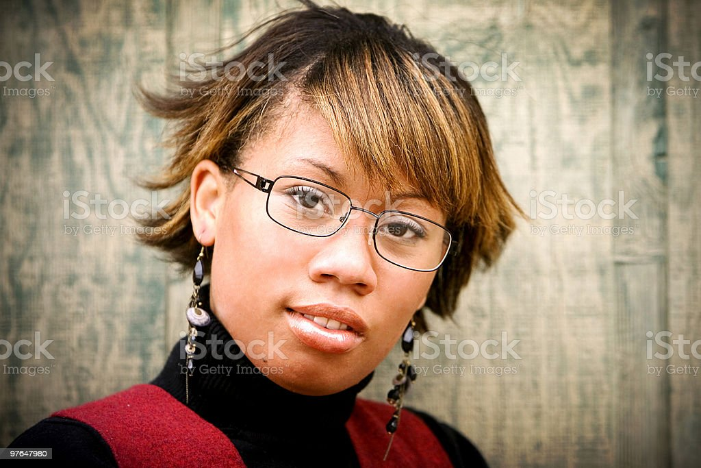 studious portratis royalty-free stock photo