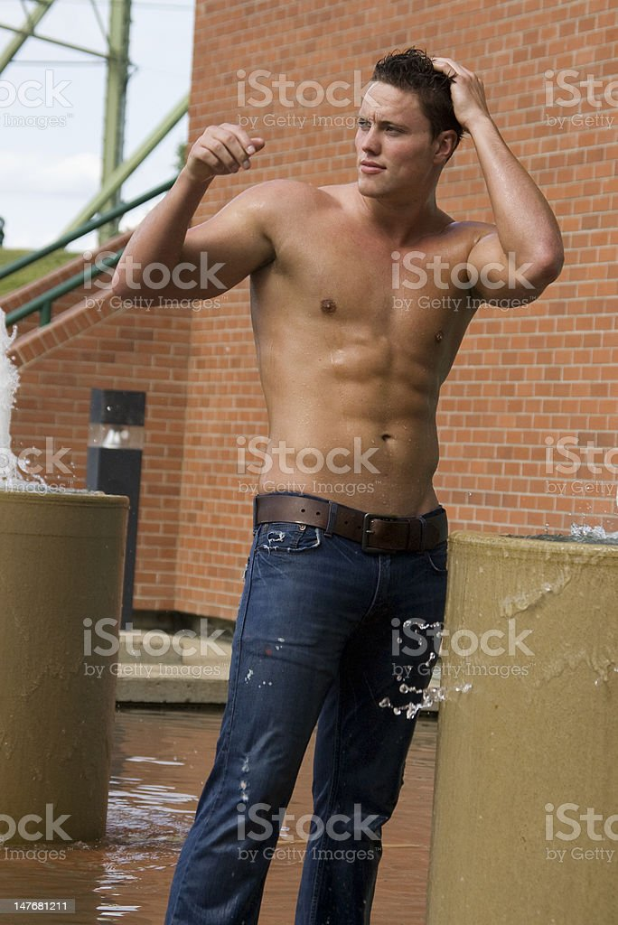 studly model royalty-free stock photo