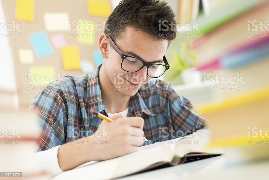 Study at home royalty-free stock photo