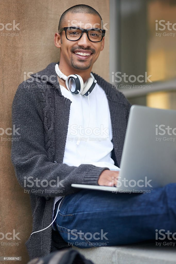 Study hard, but study smart stock photo