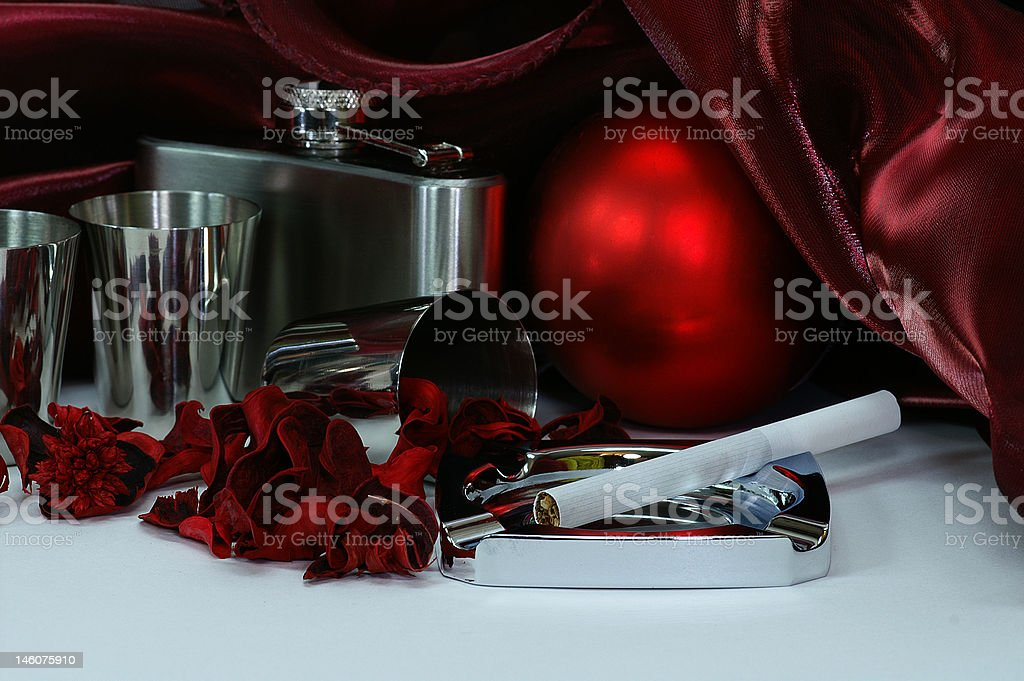 Study in Crimson royalty-free stock photo