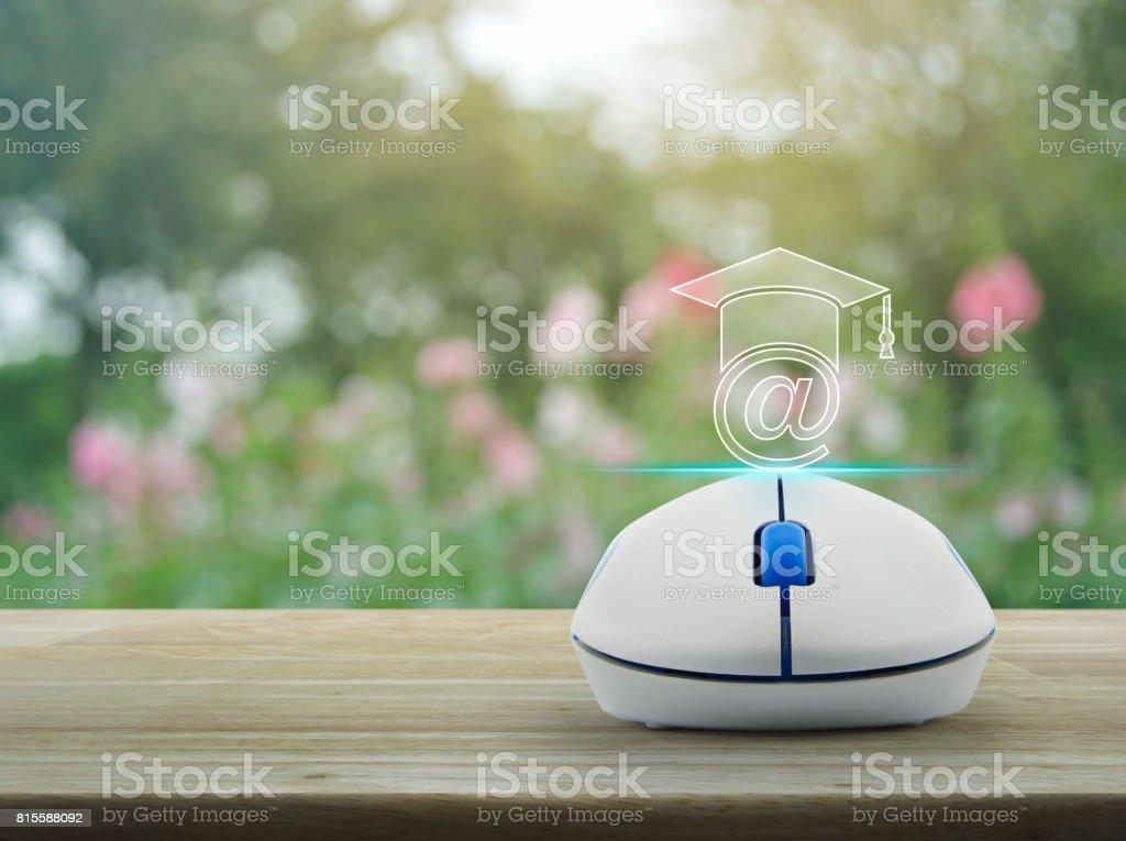 Study online concept stock photo