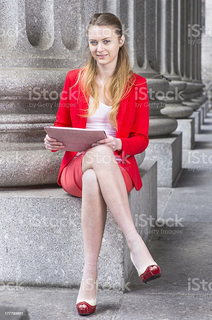 Study Outside royalty-free stock photo