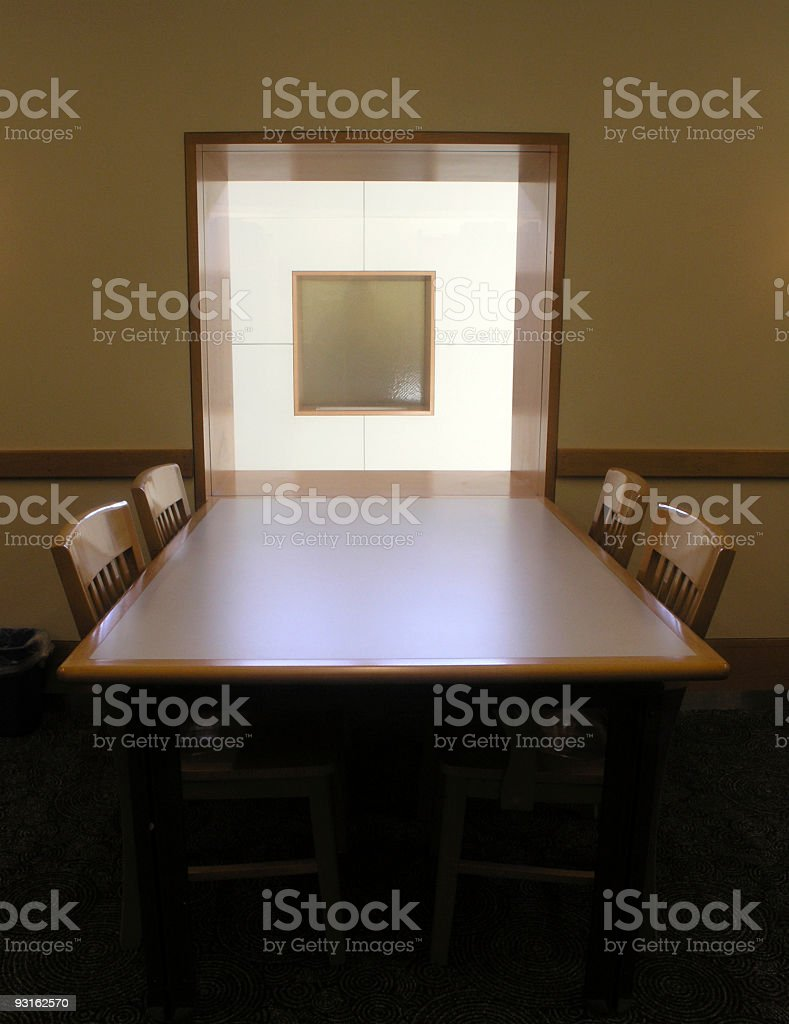 Study Table royalty-free stock photo