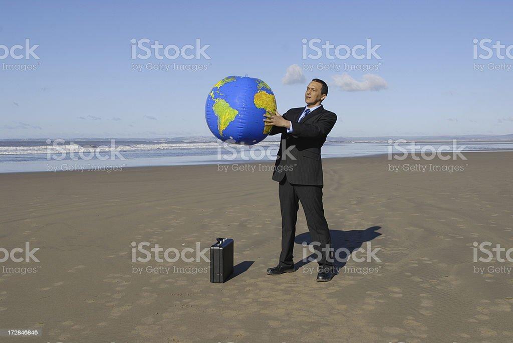 study the world stock photo