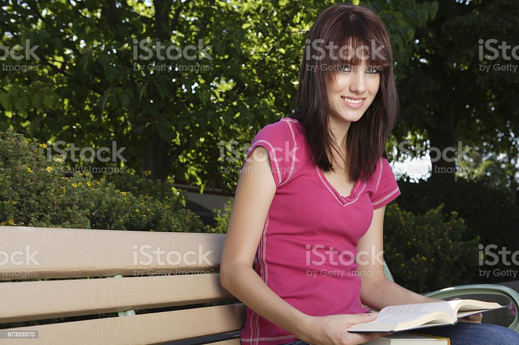 Study Time royalty-free stock photo