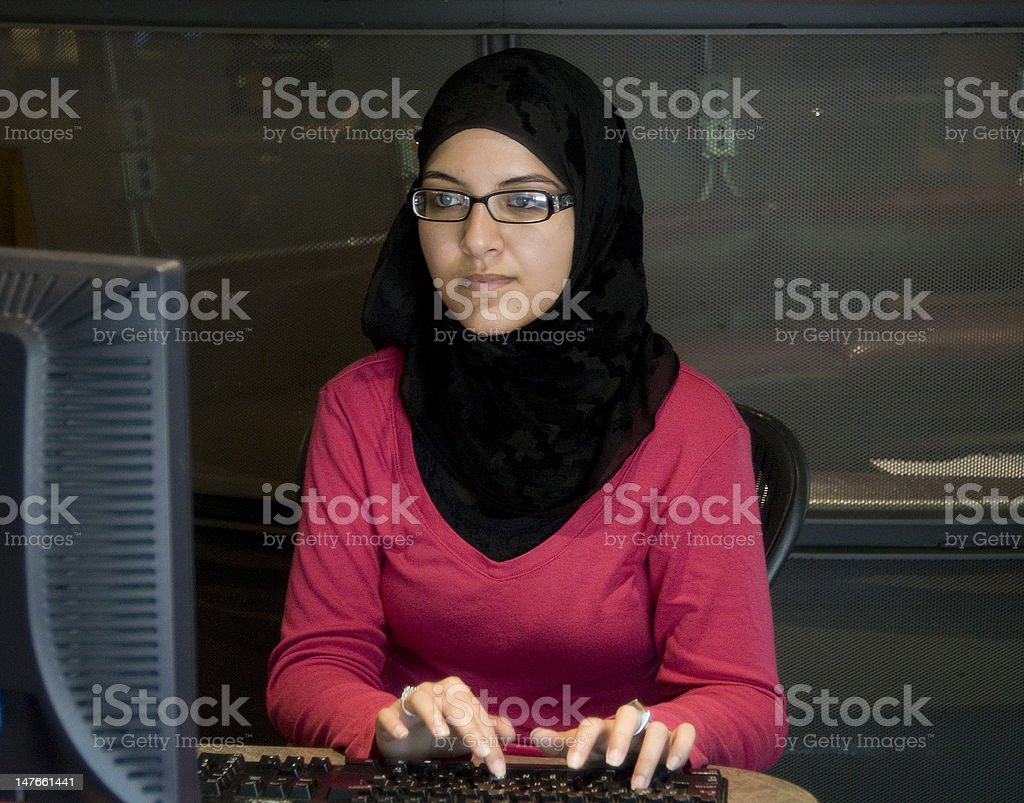 studying college student, #3 royalty-free stock photo