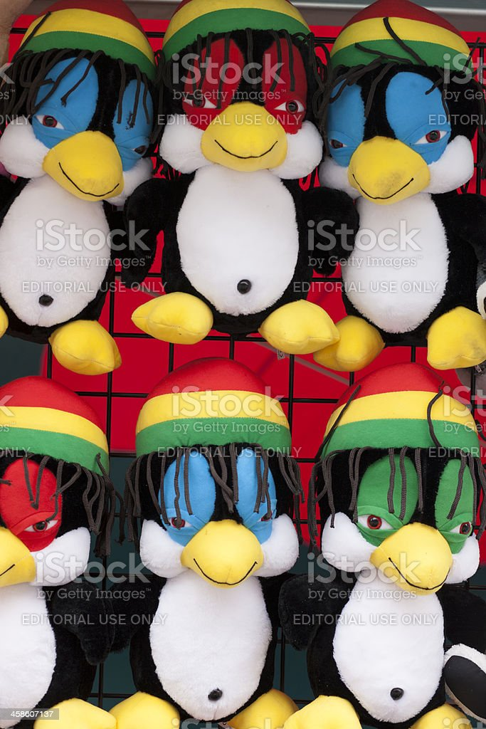 Stuffed Animals At Carnival royalty-free stock photo