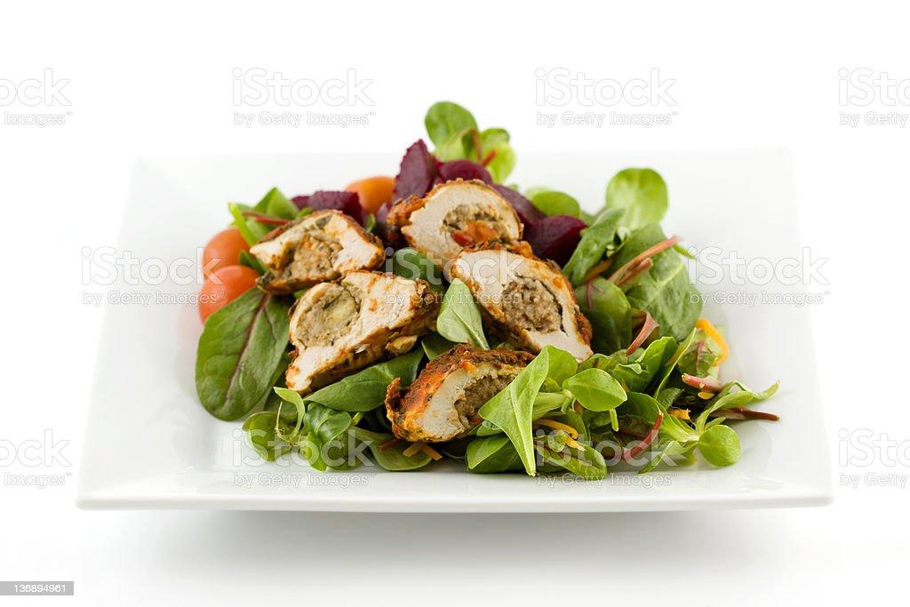 Stuffed Chicken Salad royalty-free stock photo