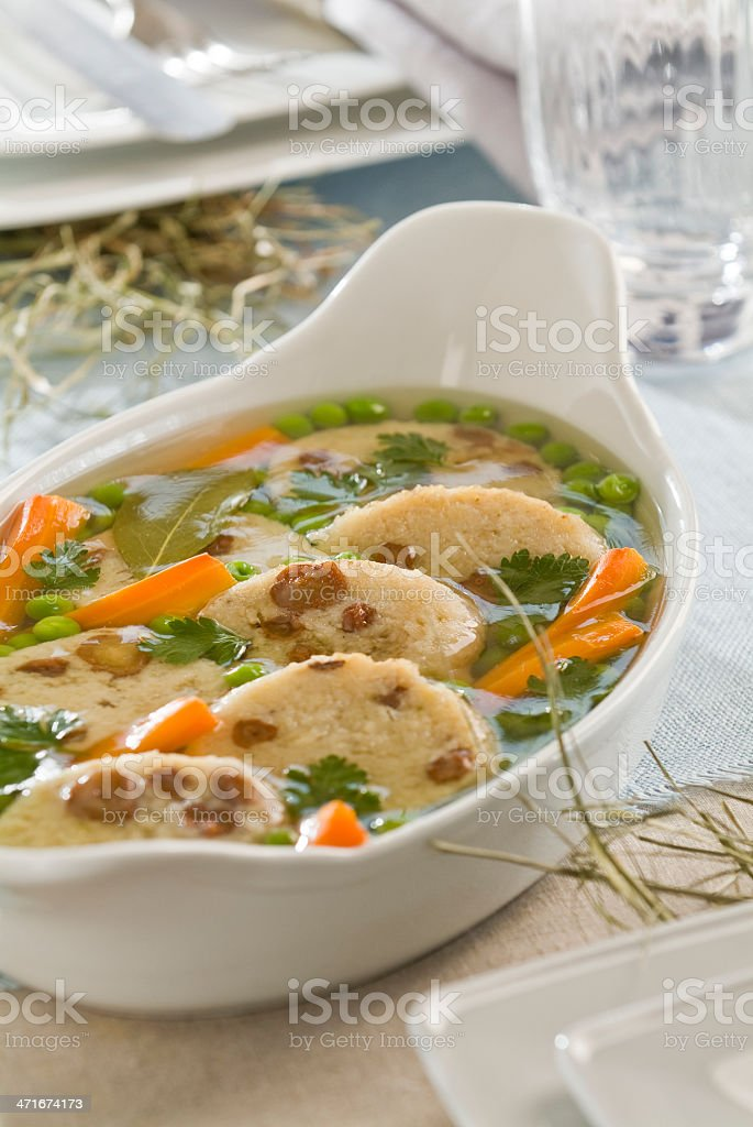 stuffed fish in jelly royalty-free stock photo
