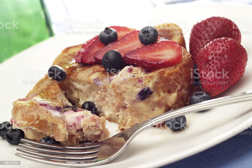 Stuffed French Toast royalty-free stock photo