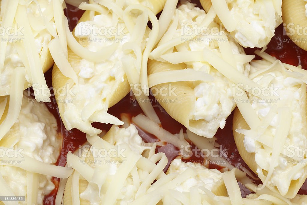Stuffed Pasta stock photo
