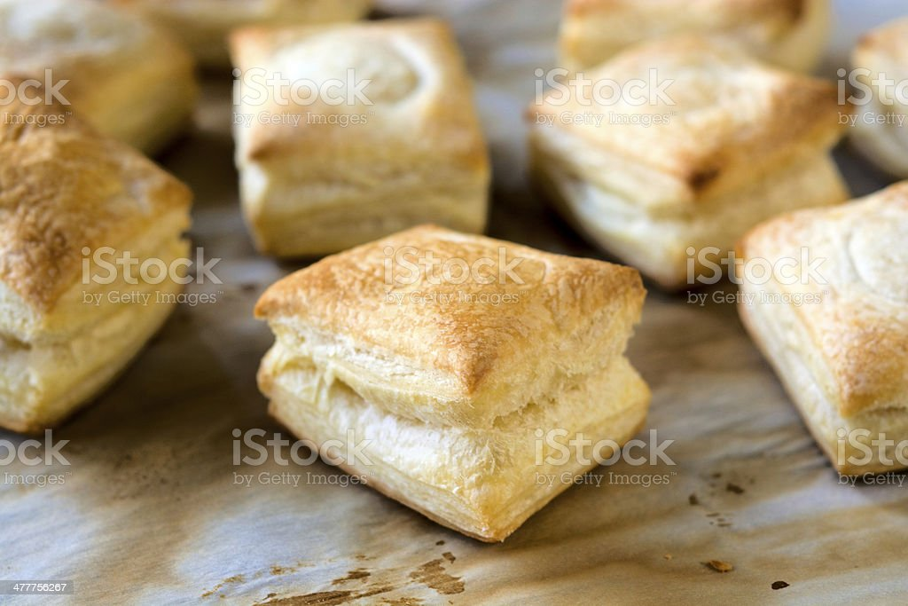 Stuffed pastry royalty-free stock photo