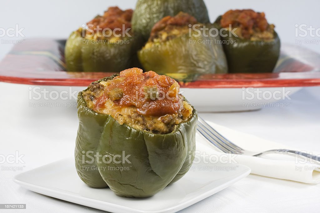 Stuffed Pepper stock photo