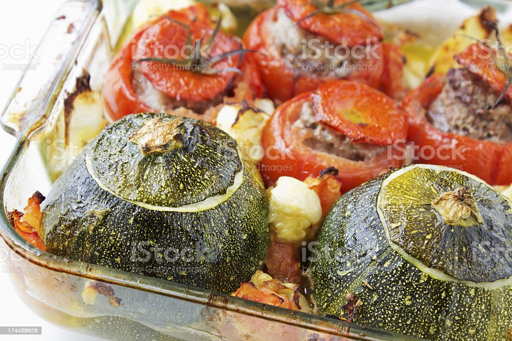 Stuffed vegetables royalty-free stock photo