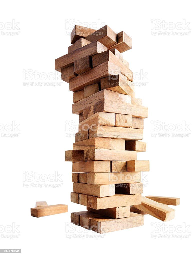 Stumbling Blocks stock photo