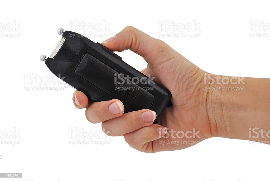 stun gun royalty-free stock photo
