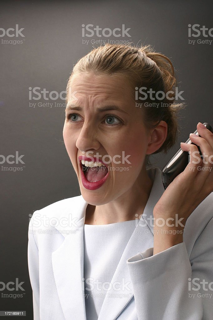 Stunned royalty-free stock photo