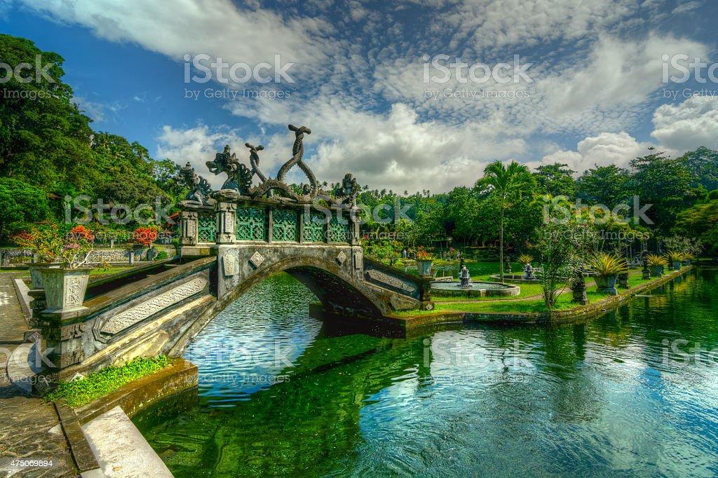 Stunning beautiful bridge. stock photo