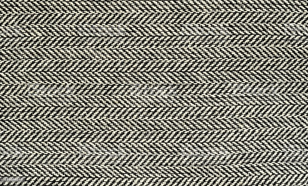 A stunning black and white textile background stock photo