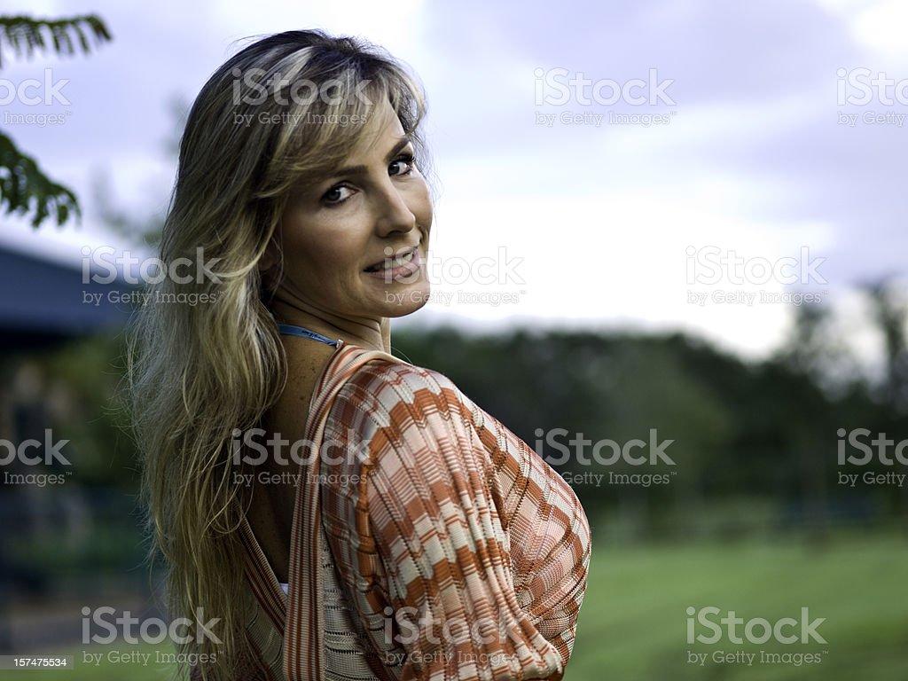Stunning forties stock photo