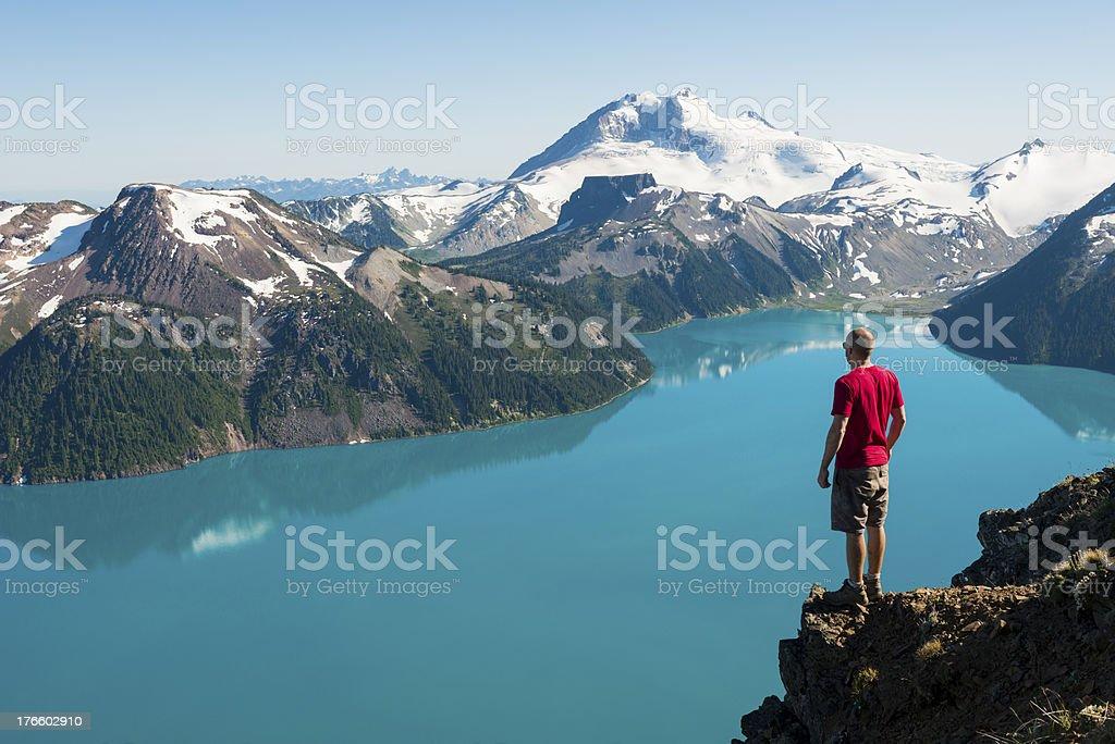 Stunning Hike stock photo