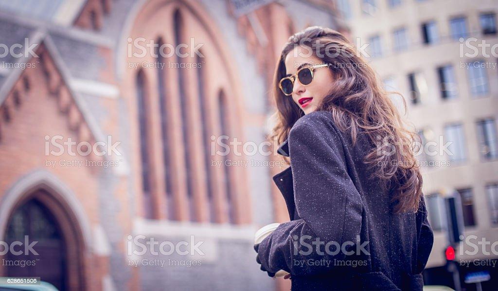 Stunning lady stock photo