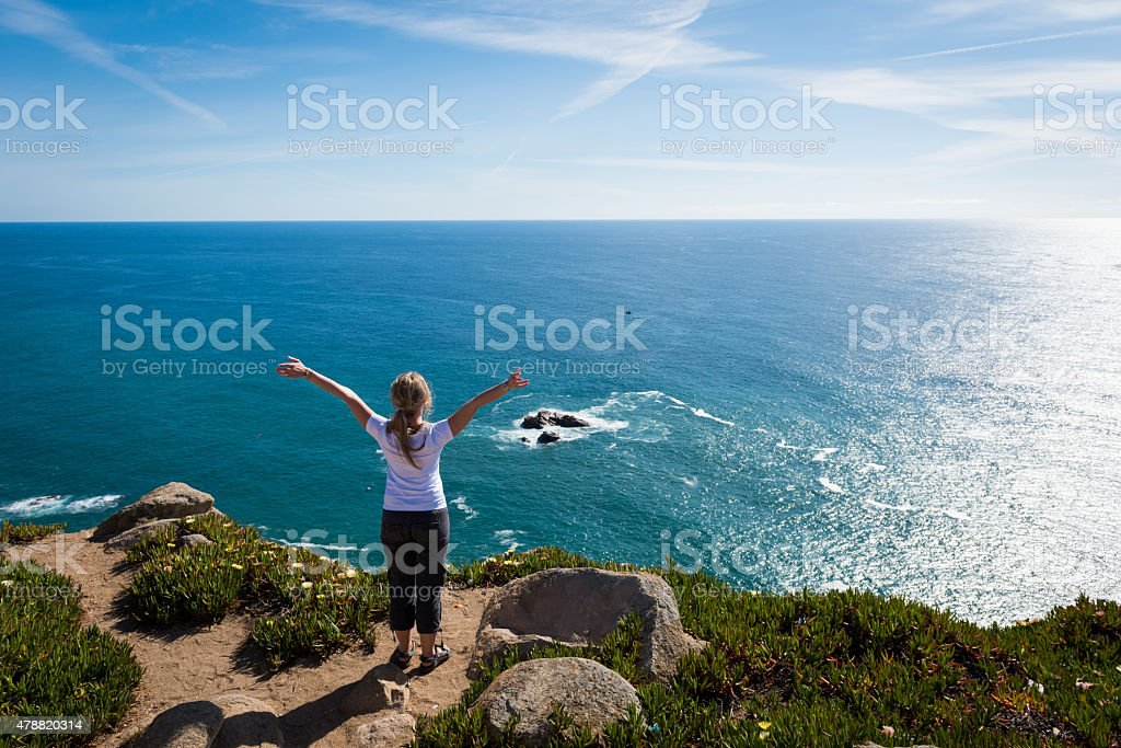 Stunning Oceanside Victory stock photo