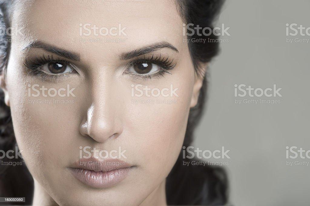 Stunning Portriat stock photo