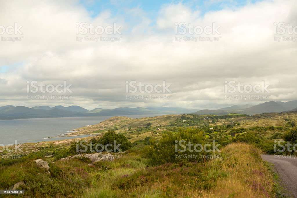 Stunning scenery in West Cork, Ireland. stock photo