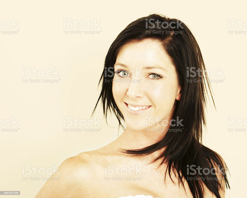 Stunning Smile royalty-free stock photo