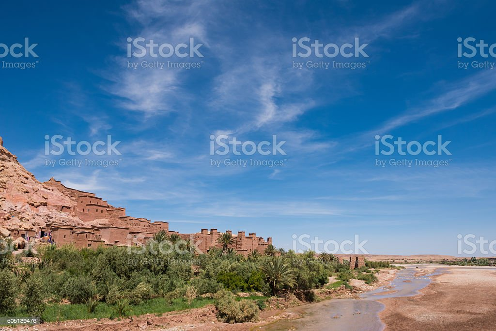 Stunning village of Ait Benhaddou, Morocco stock photo