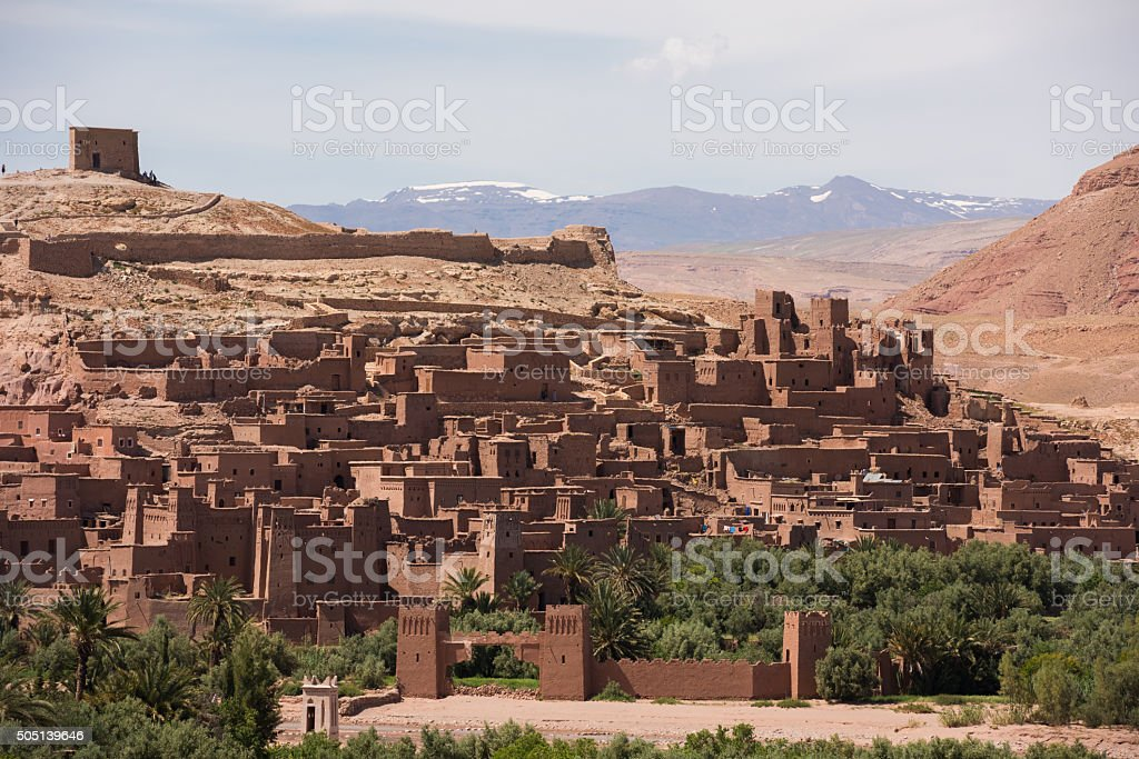 Stunning village of Ait Benhaddou, Morocco stock photo