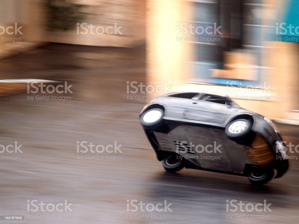 Stunt Car royalty-free stock photo