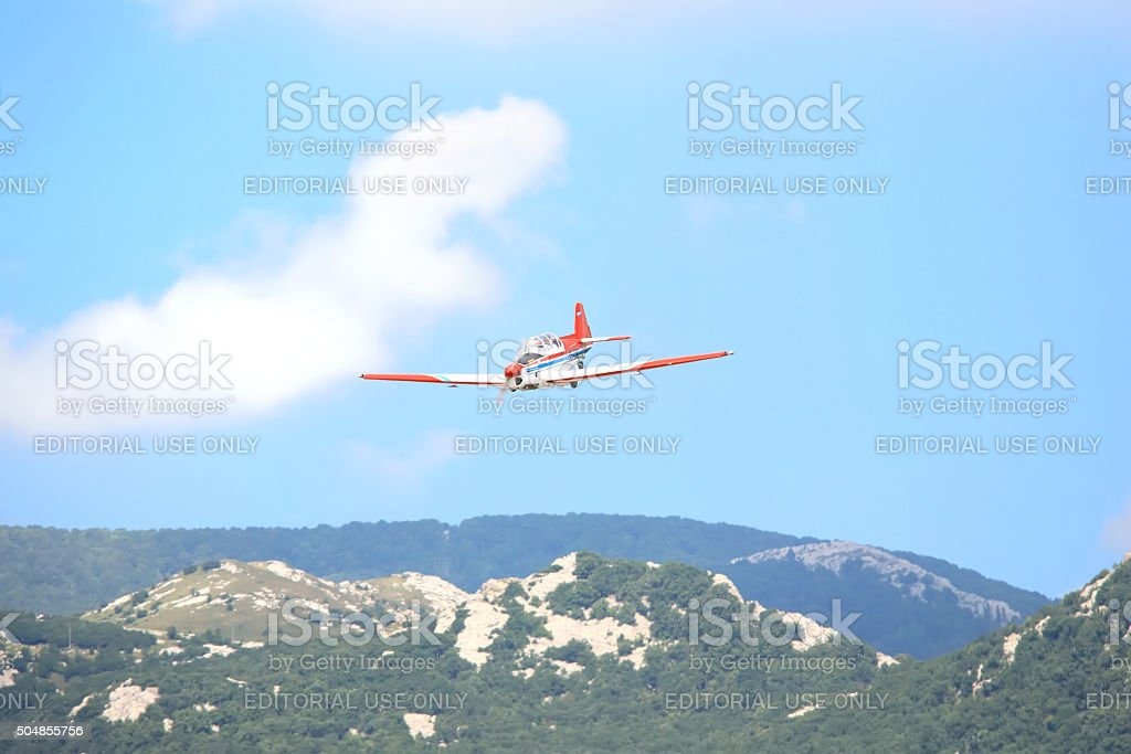 Stunt stock photo