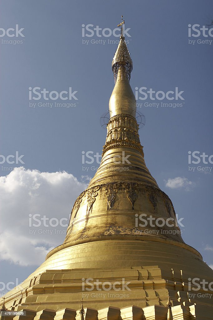 Stupa. Myanmar. Twente. royalty-free stock photo