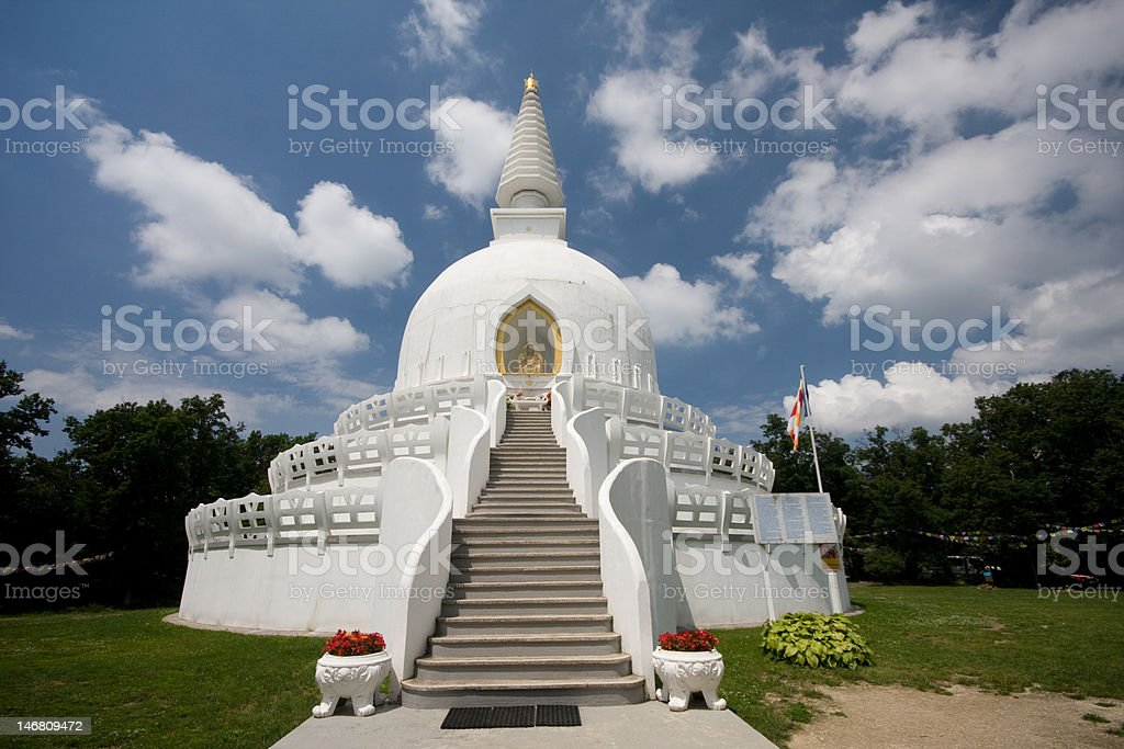 stupa royalty-free stock photo